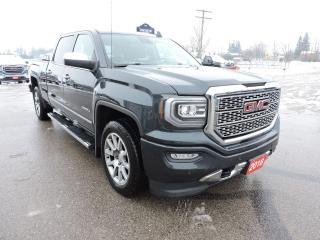 Used 2018 GMC Sierra 1500 Denali 6.2L Leather Sunroof Only 61000 km for sale in Gorrie, ON