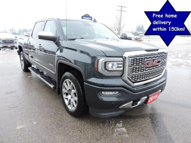 2018 GMC Sierra 1500 Denali 6.2L Leather Sunroof Only 61000 km