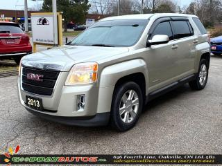 Used 2013 GMC Terrain SLE-1|LOW KM|NO ACCIDENT|AWD|BT|WARRANTY|CERTIFIED for sale in Oakville, ON