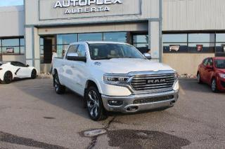 Used 2019 RAM 1500 Longhorn Crew Cab SWB 4WD for sale in Calgary, AB