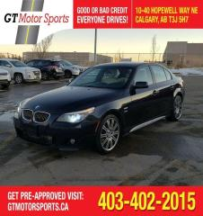 Used 2010 BMW 5 Series 535i xDrive | $0 DOWN - EVERYONE APPROVED! for sale in Calgary, AB