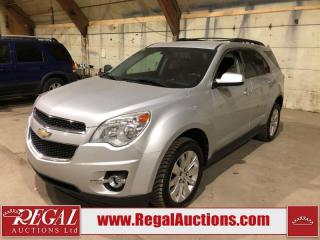 Used 2011 Chevrolet EQUINOX 2LT 4D UTILITY 4WD for sale in Calgary, AB