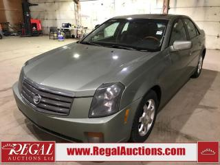 Used 2004 Cadillac CTS 4D Sedan for sale in Calgary, AB