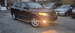 Used 2010 Hyundai Santa Fe Limited w/Navi for sale in Scarborough, ON