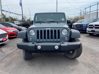 Used 2014 Jeep Wrangler Unlimited for sale in London, ON