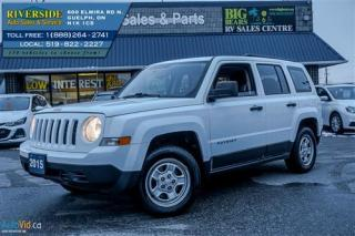 Used 2015 Jeep Patriot Base - NO a/c for sale in Guelph, ON