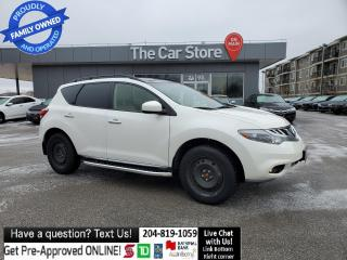 Used 2012 Nissan Murano SL Local MB LEATHER sunroof WINTER/SUMMER RIMS/TIR for sale in Winnipeg, MB