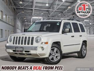 Used 2008 Jeep Patriot LIMITED for sale in Mississauga, ON
