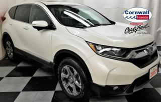 Used 2017 Honda CR-V EX-L Leather, Clean CarFax, Heated Seats for sale in Cornwall, ON