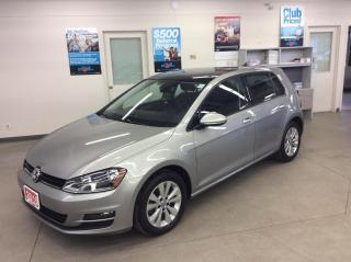 Used 2016 Volkswagen Golf 5dr HB Auto 1.8 TSI Comfortline Leather & Sunroof for sale in Ottawa, ON