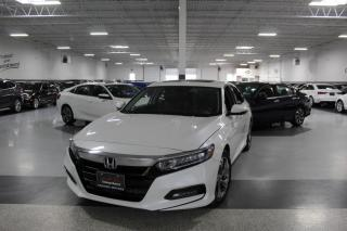 Used 2018 Honda Accord EX-L NO ACCIDENTS I LEATHER I SUNROOF I R. CAM I LANEWATCH for sale in Mississauga, ON