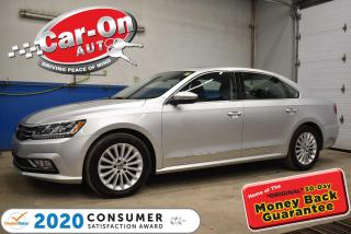 Used 2017 Volkswagen Passat 1.8 TSI LEATHER | SUNROOF | NAVIGATION for sale in Ottawa, ON