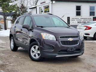 Used 2015 Chevrolet Trax 1-Owner No Accidents AWD 2LT Leather Remote Start Tow Hitch for sale in Sutton, ON