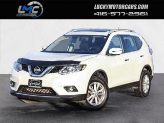 Used 2016 Nissan Rogue AWD SV-PANOROOF-CAMERA-REMOTE STARTER-NO ACCIDENTS for sale in Toronto, ON