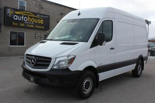 Used 2016 Mercedes-Benz Sprinter Highroof/2500/Diesel/backup camera/new tires/New brakes for sale in Newmarket, ON