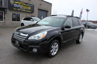 Used 2013 Subaru Outback Limited / NAV / SUNROOF / WHITE LEATHER / AWD / for sale in Newmarket, ON