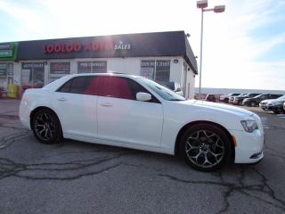 Used 2015 Chrysler 300 S V6 Panoramic Sunroof Leather Remote Starter Certified for sale in Milton, ON