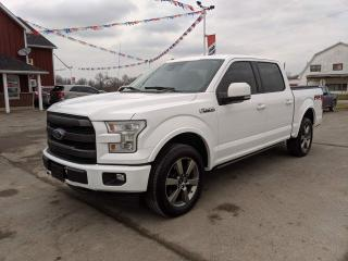 Used 2017 Ford F-150 Lariat for sale in Dunnville, ON