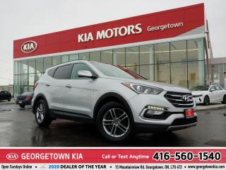 Used 2017 Hyundai Santa Fe Sport SE | AWD | LTHR | PANO ROOF | B/U CAM | HTD SEATS for sale in Georgetown, ON