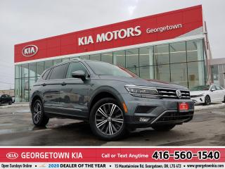 Used 2018 Volkswagen Tiguan HIGHLINE   1 OWNER   7 PASS   NAV   PANO ROOF  39K for sale in Georgetown, ON