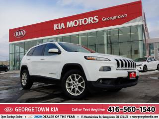 Used 2015 Jeep Cherokee NORTH | 4WD | CLEAN CARFAX | HTD SEATS | B/TOOTH | for sale in Georgetown, ON