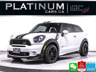 Used 2014 MINI Cooper Paceman John Cooper Works ALL4, AWD, NAVI,PANOROOF, for sale in Toronto, ON
