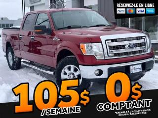 Used 2014 Ford F-150 XLT SUPER CREW   ''5.0L'' for sale in Ste-Marie, QC