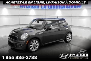 Used 2012 MINI Cooper Hardtop S + GARANTIE + TOIT PANO + A/C + CUIR + for sale in Drummondville, QC