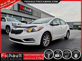 Used 2014 Kia Forte LX+ for sale in Châteauguay, QC
