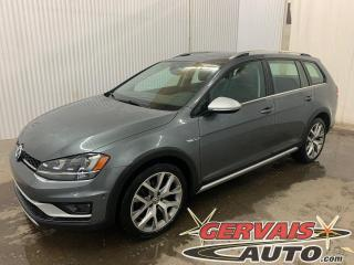 Used 2017 Volkswagen Golf Alltrack 4MOTION AWD Fender Cuir Toit Panoramique Mags for sale in Trois-Rivières, QC