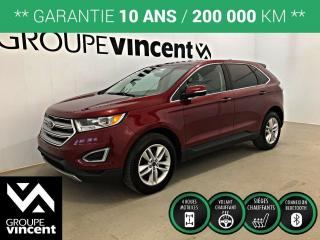 Used 2017 Ford Edge SEL AWD ** GARANTIE 10 ANS ** VUS à quatre roues motrices offrant confort et douceur de roulement! for sale in Shawinigan, QC