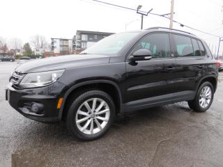 Used 2017 Volkswagen Tiguan 4MOTION Wolfsburg CUIR CAMERA TOIT PANO MAGS for sale in St-Eustache, QC
