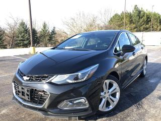 Used 2017 Chevrolet Cruze Premier RS for sale in Cayuga, ON