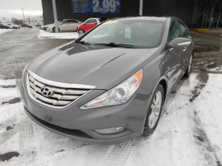Used 2011 Hyundai Sonata 2.4Limited,CUIR,TOIT,A/C,MAGS,BANCS CHAUFF,CRUISE+ for sale in Mirabel, QC