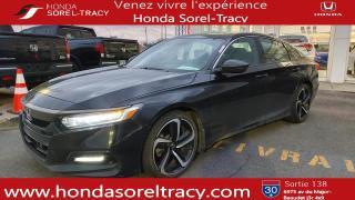 Used 2018 Honda Accord HONDA ACCORD SPORT 4 PORTES CVT2018 for sale in Sorel-Tracy, QC