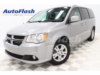 Used 2015 Dodge Grand Caravan CREW *Stow'n-Go *Camera *A/C-3-ZONES for sale in St-Hubert, QC