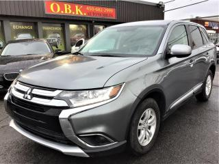 Used 2017 Mitsubishi Outlander AWC-ES-CAMERA RECUL-SIEGES CHAUFF-BLUETOOTH for sale in Laval, QC