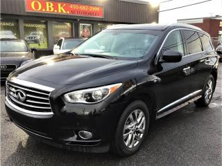 Used 2015 Infiniti QX60 NAVIGATION-CAM RECUL360-TOIT OUVT-BLUETOOTH-7 PASS for sale in Laval, QC