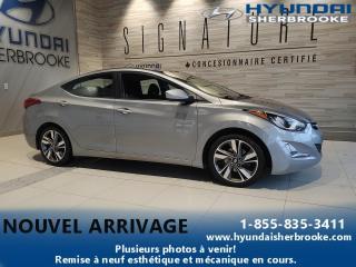 Used 2016 Hyundai Elantra GLS CAMERA TOIT BANCS CHAUFF BLUETOOTH for sale in Sherbrooke, QC