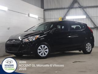 Used 2016 Hyundai Accent GL 5 Portes 6 Vitesses for sale in Val-David, QC