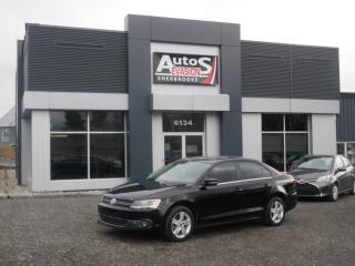Used 2014 Volkswagen Jetta TDI DSG Comfortline + INSPECTÉ + BAS KILO for sale in Sherbrooke, QC