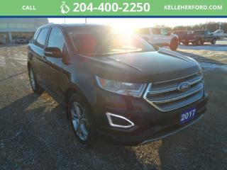 Used 2017 Ford Edge Titanium for sale in Brandon, MB