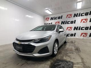 Used 2019 Chevrolet Cruze LT Nicol Occasion, le leader régional for sale in La Sarre, QC