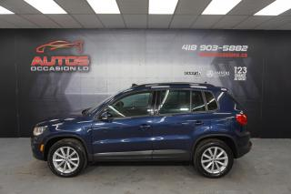 Used 2017 Volkswagen Tiguan 4MOTION WOLFSBURG EDITION CUIR TOIT PANO 84 186 KM for sale in Lévis, QC