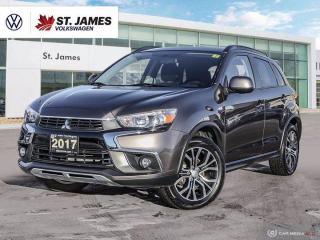 Used 2017 Mitsubishi RVR SE Limited Edition, Clean Carfax, Backup Camera, Heated Seats for sale in Winnipeg, MB