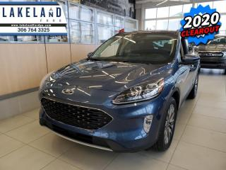 New 2020 Ford Escape Titanium Hybrid 4WD  - Sunroof - $247 B/W for sale in Prince Albert, SK