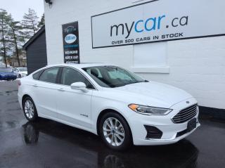 Used 2019 Ford Fusion Hybrid SEL LEATHER, SUNROOF, NAV, HEATED SEATS, WOW!! for sale in Kingston, ON