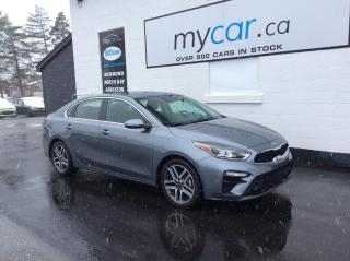 Used 2020 Kia Forte EX+ SUNROOF, HEATED SEATS/WHEEL, ALLOYS, BACKUP CAM!! for sale in Kingston, ON