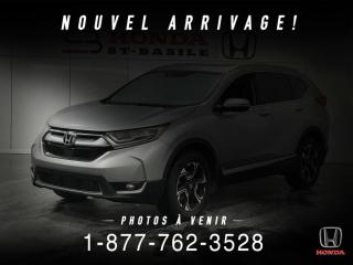 Used 2017 Honda CR-V TOURING + AWD + CUIR + TOIT + MAGS + WOW for sale in St-Basile-le-Grand, QC