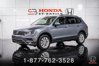 Used 2018 Volkswagen Tiguan TRENDLINE + 4MOTION + CAMERA + WOW! for sale in St-Basile-le-Grand, QC